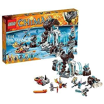 Lego Legends Of Chima Playthèmes 70226 Jeu De Construction La Forteresse Glacée Du Mammouth