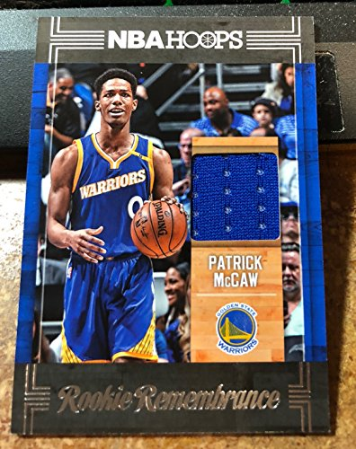 2017-18 Hoops Rookie Remembrance Memorabilia #57 Patrick McCaw Jersey RC Card