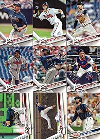 Amazon.com: 2017 Topps Series 1 Atlanta Braves Baseball