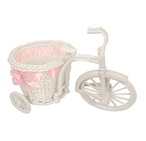 cbd1a29e4459 Mini Pram Baby Baskets and Favours! Hamper Shower Stroller Vintage Craft[ Pink,Trike (Small)]: Amazon.co.uk: Garden & Outdoors