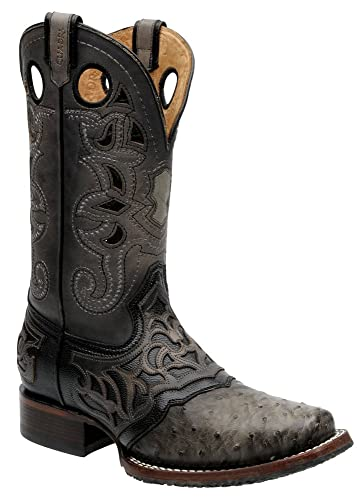 Cuadra's Ostrich Rodeo Western Boots 2I03A1