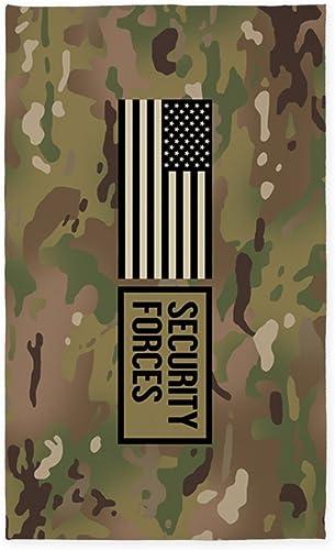 CafePress U.S. Air Force: Security Forces Camo Decorative Area Rug