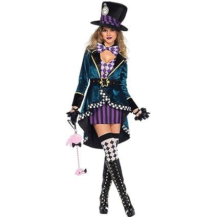 Amazon.com: Yaxuan Adult Female Magician/Fairytale / Cosplay ...