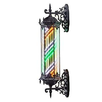 YOLL Postes de Barbero LED,Impermeable Decoracion Peluquería ...