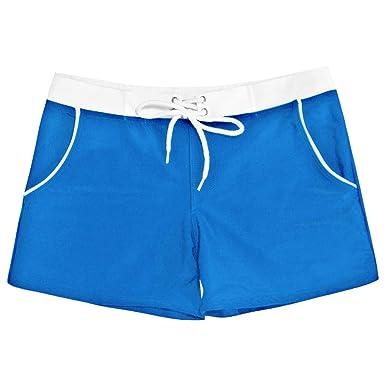 fbbe8f9115 Maillot De Bain Homme Boxer Piscine Sexy Short Homme Sport avec Poche Court  Plage Natation Sexy