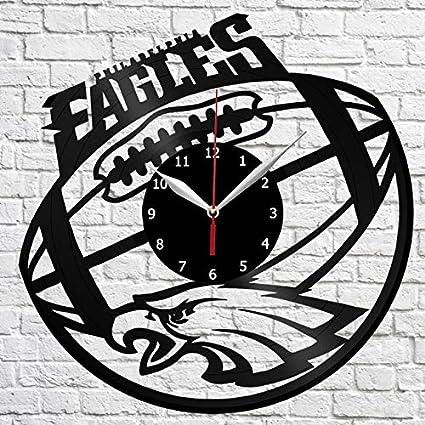 hot sale online 8091d 94688 Amazon.com: Philadelphia Eagles Vinyl Record Wall Clock ...