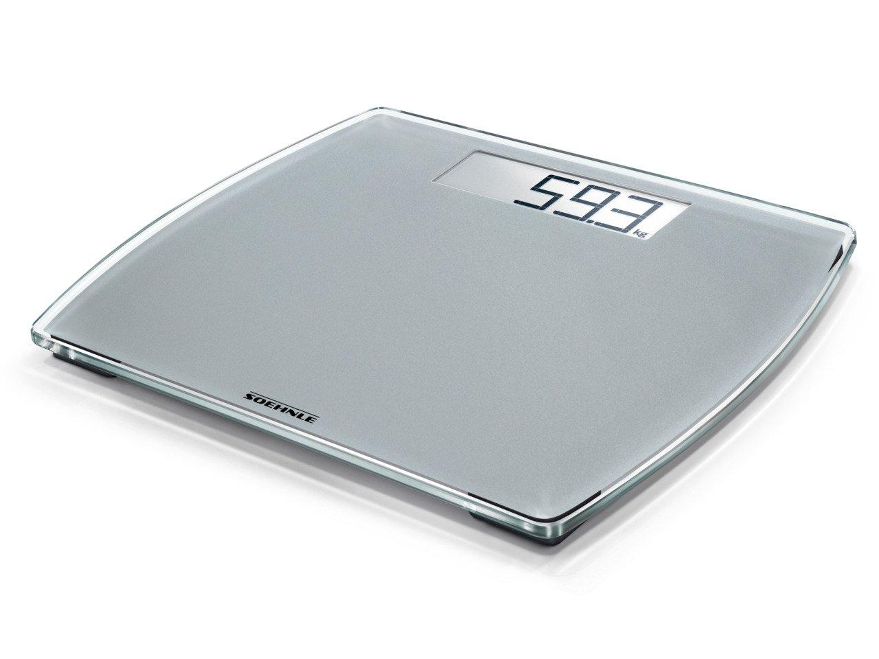 Soehnle Style Sense Comfort Electronic Bathroom Scale - 100 Scale, White 63853
