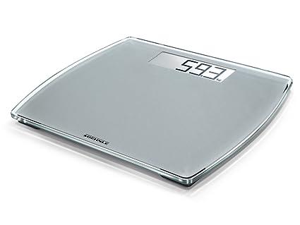 Soehnle Style Sense Comfort 300 - Bascula de bano digital, plata