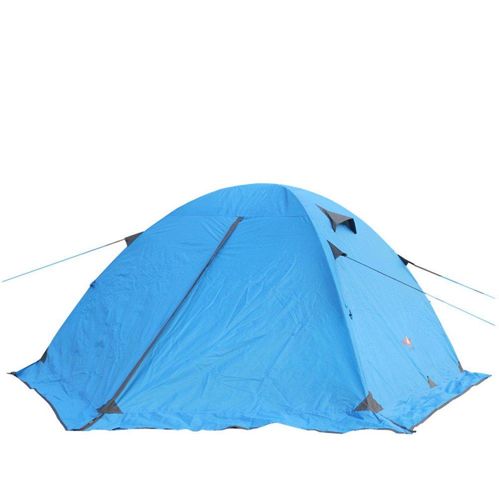 3-4人キャンプテント4シーズンダブルレイヤーアルミポール屋外テント B07C1KYM21/アウトドアスポーツのために組み立てる必要がある B07C1KYM21, 脳トレ生活:7055de5f --- ijpba.info