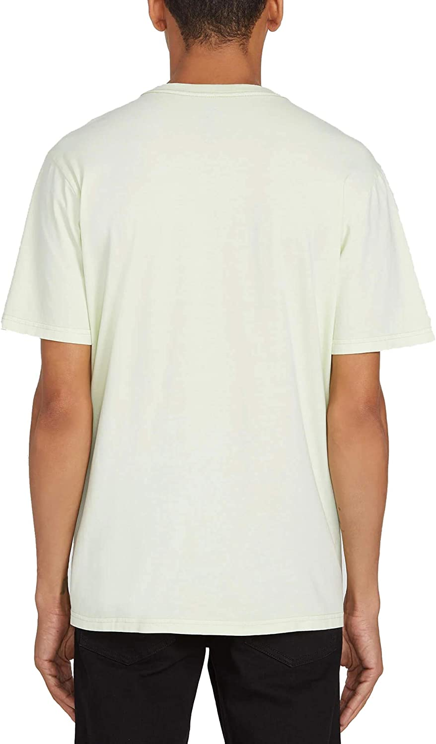 Volcom Mens Solid Stone Embroidered Short Sleeve Tee