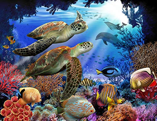 (Underwater Fantasy 500 pc Jigsaw Puzzle by SunsOut )