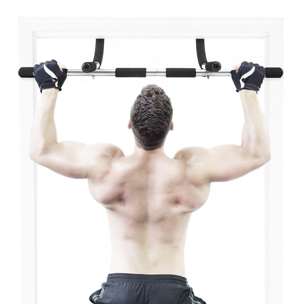 Crown Sporting Goods Door Gym Complete Upper Body Workout Bar by Crown Sporting Goods