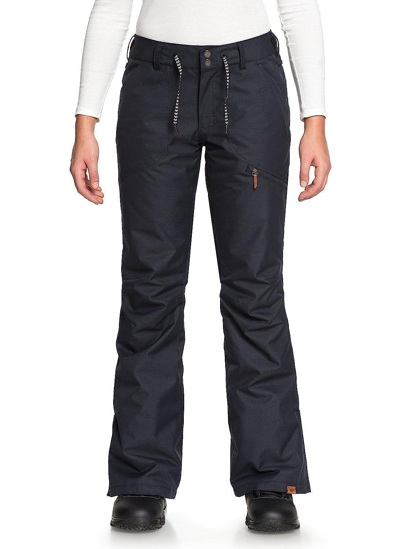 True Black L Roxy NadiaSnow Pants for Women ERJTP03062