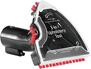 Bissell 3-in-1 Stair and Upholstery Tool | for Use Upright and Portable Carpet Cleaners | 2369, us:one Size, Black