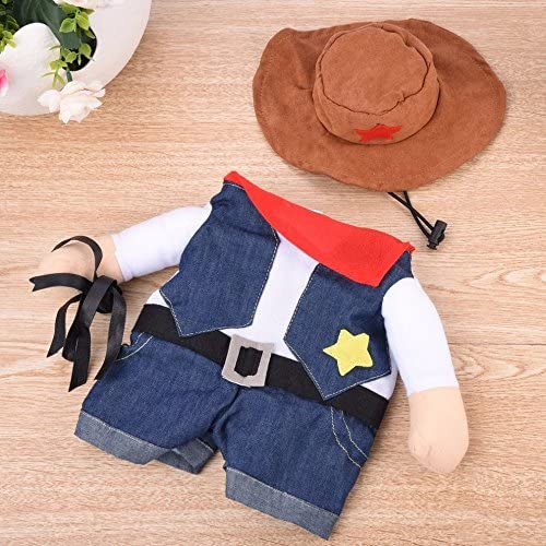 Meihejia Funny Cowboy Jacket Suit - Super Cute Costumes for Small Dogs & Cats 21