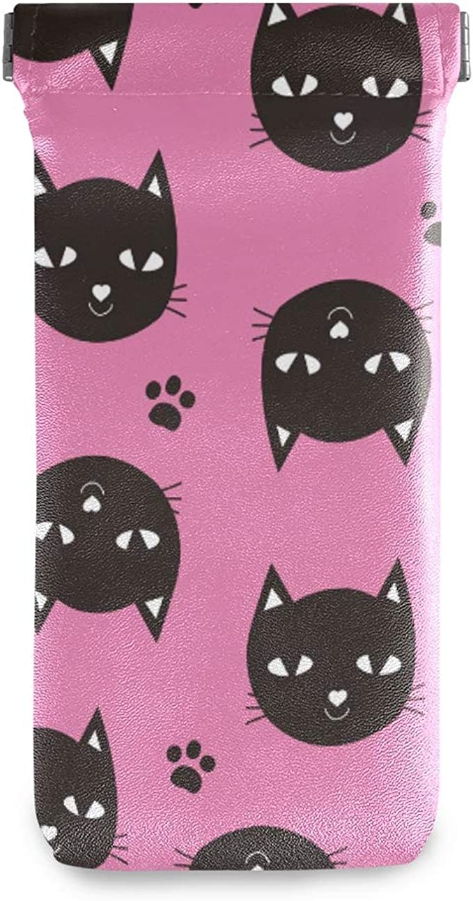 Black Cat Eyeglasses Case or Phone Cover