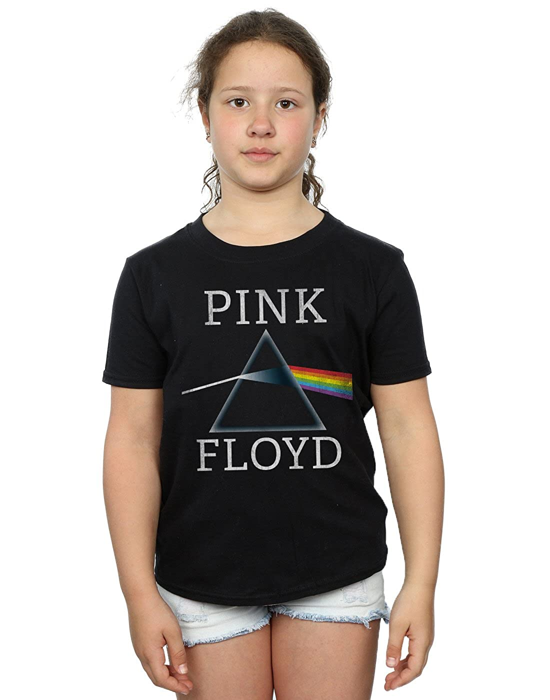 5cc8a5a2 Amazon.com: Pink Floyd Girls Dark Side of The Moon Prism T-Shirt: Clothing
