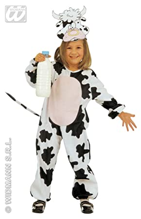 Desconocido Disfraz de vaca para niña