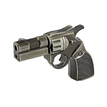 Usbkingdom 64GB USB 2 0 Flash Drive Cartoon Metal Revolver Pistol Gun Shape  Pen Drive Thumb Drive Memory Stick Pendrive Jump Drive Flash Disk