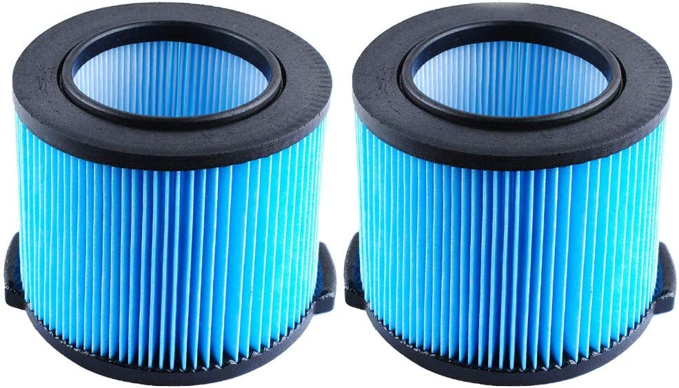 CBT Supply Replacement Filter for Ridgid VF3500 3-4.5 Gallon Ridgid Shop Vac Filter for WD4050 WD4070 WD4522 2 Pack…