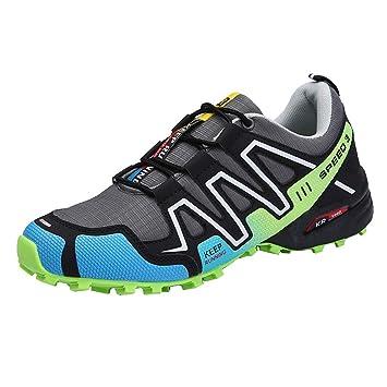 Shoes Zapatillas de Bicicleta de montaña, Zapatos Casuales Transpirable Bicicleta Bloqueo de Carretera Spinning Zapatos