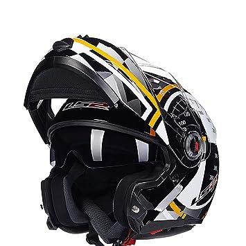 WHZXQWVB Regalo Motocicleta Casco para Hombre Moto Casco Capacete Motocross Off Road Motocross Casco