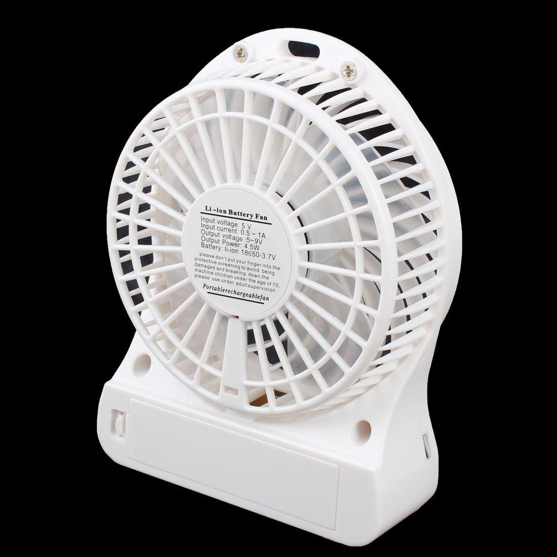 Amazon.com: eDealMax ordenador portátil del cuaderno de la batería Powered USB portátil Mini ventilador enfriador Blanca: Electronics