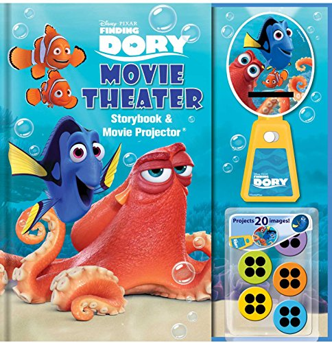 Disney&Pixar Finding Dory Movie Theater Storybook & Movie Projector (1)