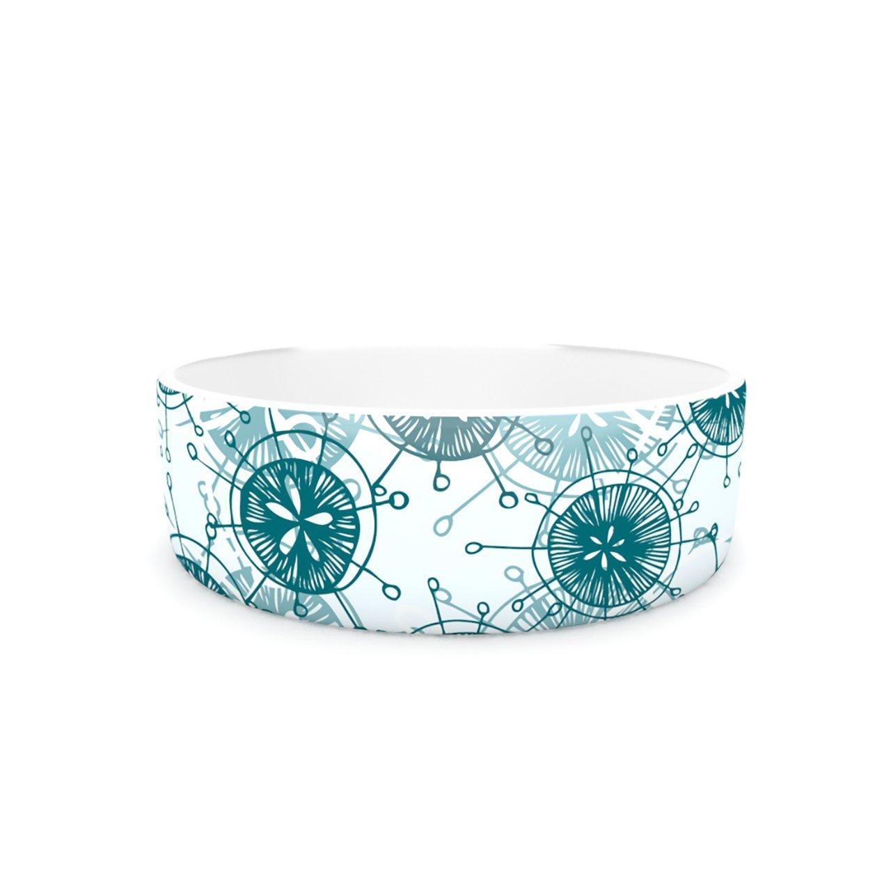 Kess InHouse Anchobee Satellite  Pet Bowl, 7-Inch