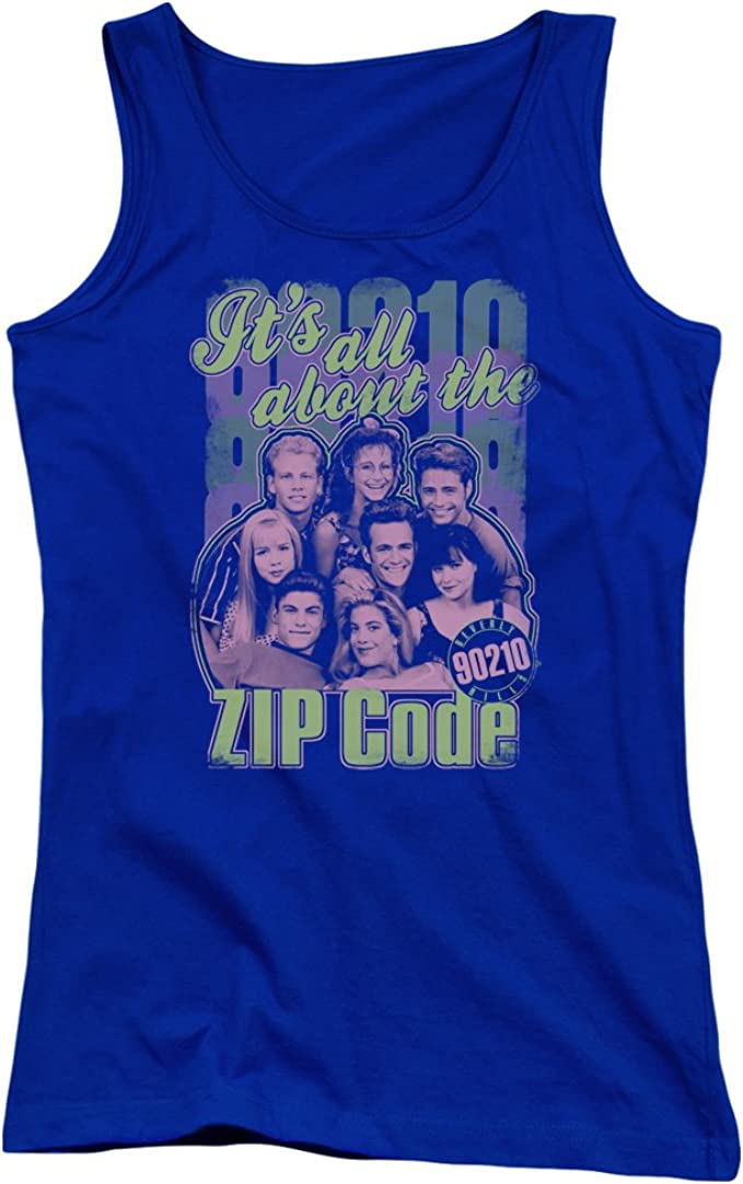 Beverly Hills 90210 IT/'S ALL ABOUT THE ZIP CODE Adult Tank Top All Sizes