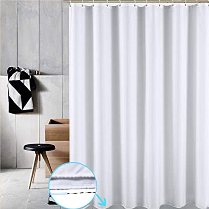 Amazon Uforme 60 Inch By 72 Shower Curtain Anti Bacterial
