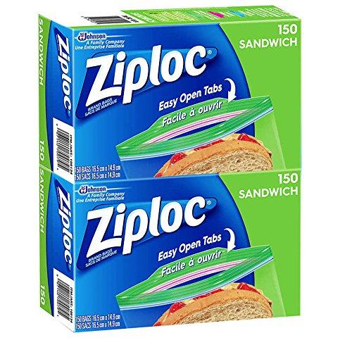 (Ziploc Sandwich Bags 300 Count)
