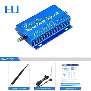 Mirabellini Amplificador Repetidor WiFi, Router WiFi Amplificador Amplificador de señal de teléfono móvil Extensor Punto