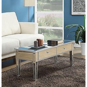 Amazon Com Howard Elliott 11095 Mirrored Coffee Table