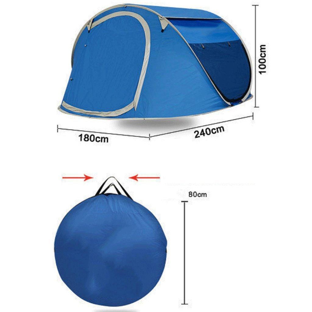 ZYN Automatisches Zelt Draußen Leute-Familien-Liebhaber-Doppelt-Strand-Camping-Zelt 3-4 Leute-Familien-Liebhaber-Doppelt-Strand-Camping-Zelt Draußen 24719b