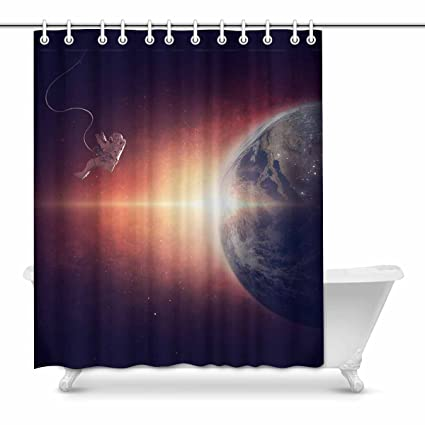 Image Unavailable Not Available For Color InterestPrint Shower Curtains Universe