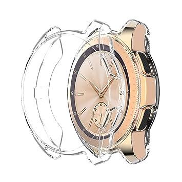 FOLOME Funda para Samsung Galaxy Watch 42 mm/46 mm/Gear S3, Suave ...