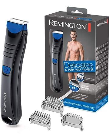 Remington Delicates BHT250 - Afeitadora Corporal, Cuchillas de Acero Inoxidable, Inalámbrica, Uso Seco