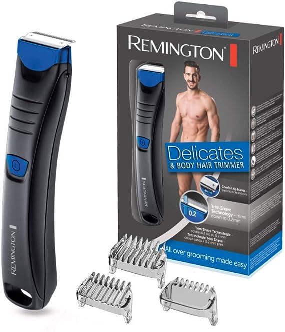 Remington BHT250 Delicates - Afeitadora Corporal, Cuchillas de ...
