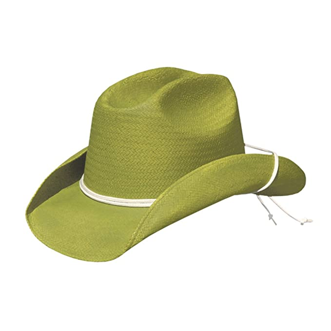 Calamity Lime Green Cowgirl Hat with Chinstrap  Amazon.ca  Clothing    Accessories 87cf9c39fa0