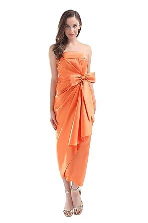 05737e2b52c9c パーティードレス ロングドレス サテン 結婚式 ドレス オレンジ 謝恩会 ドレス お呼ばれワンピース大きなサイズ