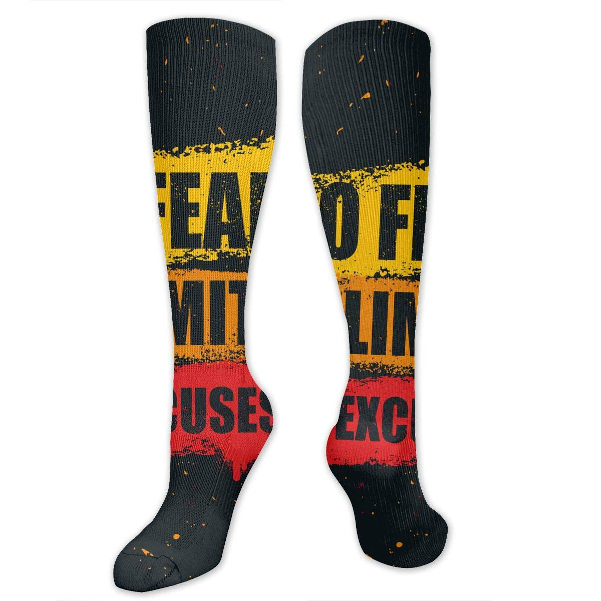 Football Long Stockings No Excuses With Wearable Material For Teenagers Fitness Workouts