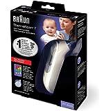Braun 博朗 婴幼儿耳温枪 IRT6520 耳温计(IRT6020升级版)(0月+) 宝宝电子体温计(德国品牌直供)包税包邮