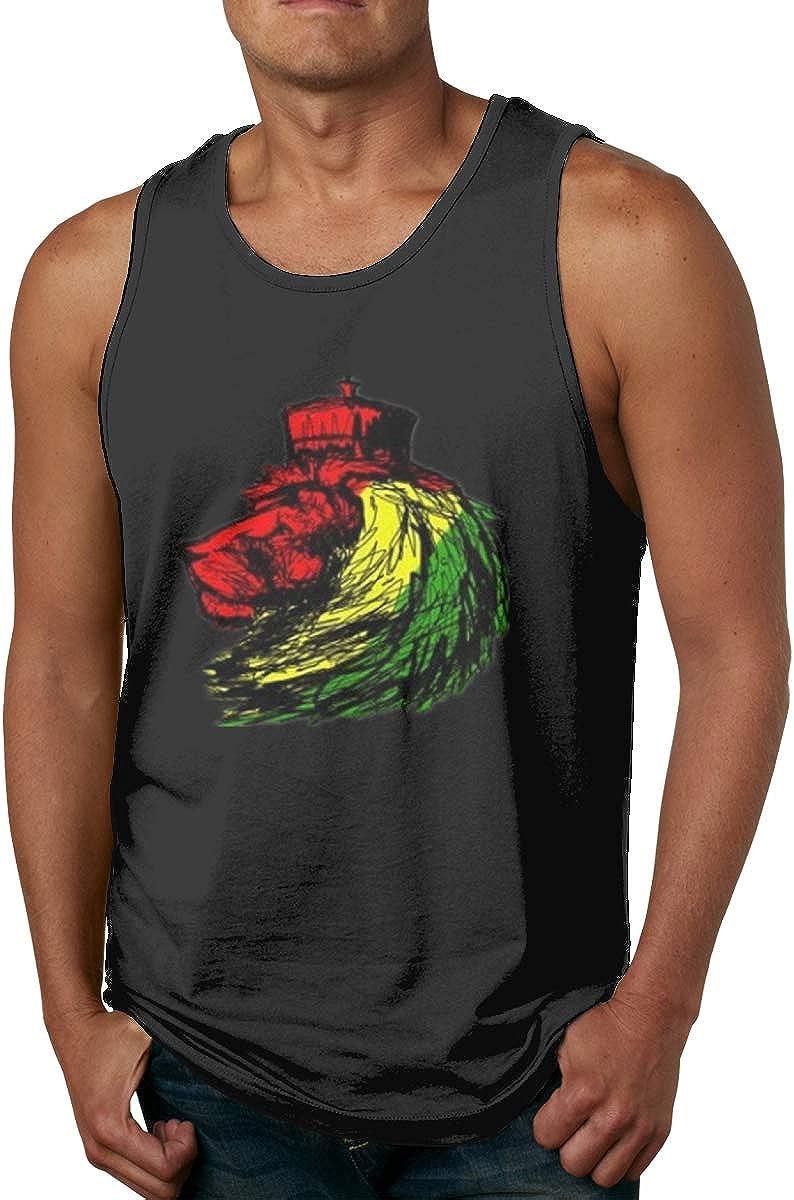 Chaleco para Hombre Camiseta de Tirantes Rasta Reggae Lion ...