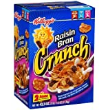 Kellogg's Raisin Bran Crunch - 43.3 oz.