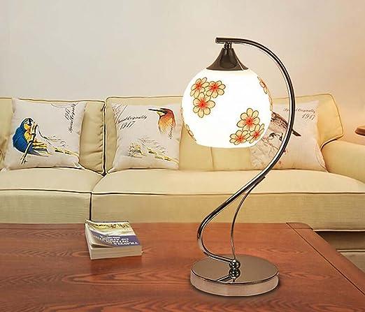 Moderna lámpara de mesa de cristal decorativo cálido ...