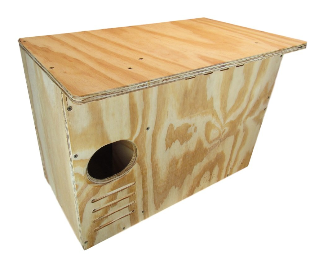 JCs Wildlife Barn Owl Nesting Box Large House Crafted in USA w by JCs Wildlife (Image #2)