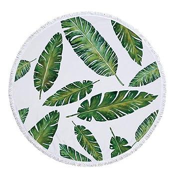 Sabarry Microfibra Toalla, Redondo Toalla de Playa Grande, Toalla de Playa XXL Toalla de Sauna XXL ZusenZomer Toalla de Ducha,, Talla única: Amazon.es: ...