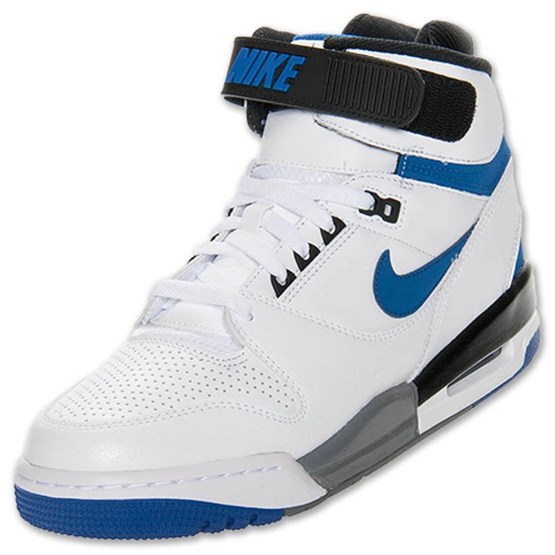 Shop Discount Nike Men's Air Revolution Basketball Shoes Cheap - Black/White/Game Royal