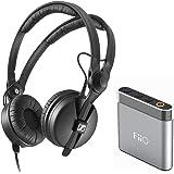 Sennheiser HD 25 Monitor Headphones + FiiO A1 Portable Headphone Amp (Silver)